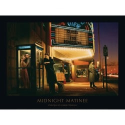 Art Print Midnight Matinee Chris Consani