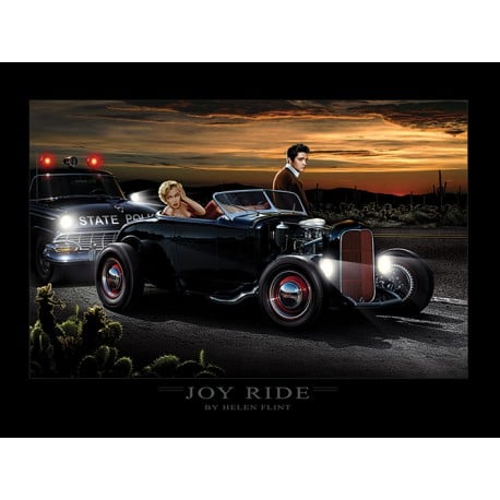 Art Print Joy Ride Helen Flint