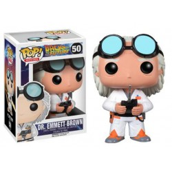 Figura Pop Volver al Futuro Doc Brown - 9cm