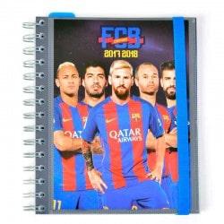 Agenda Escolar 2017/2018 Semana Vista Fc Barcelona Jugadores