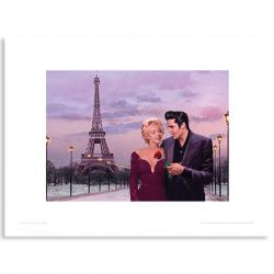 Art Print Atardecer en Paris Chris Consani