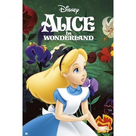 Poster Alicia en el Pais de las Maravillas