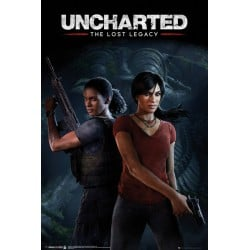 Poster Uncharted The Lost Legacy