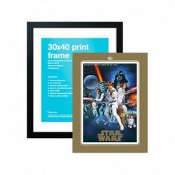 Lámina Star Wars 40 Aniversario One Sheet B + Marco