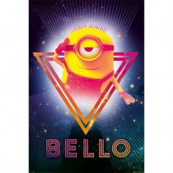 Poster Despicable Me 3 (80's Bello)