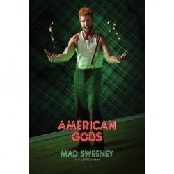 Poster American Gods Mad Sweeney