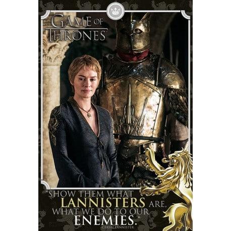 Poster Juego de Tronos Cersei