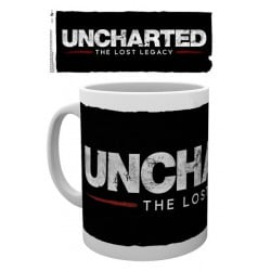 Taza Uncharted The Lost Legacy Logo