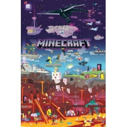 Poster Minecraft World Beyond