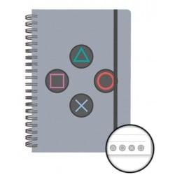Cuaderno Tapa Dura A5 Playstation