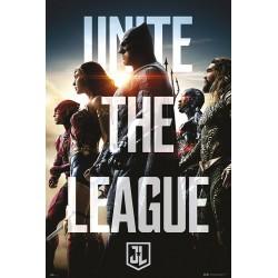 Poster Dc Comics La Liga de la Justicia