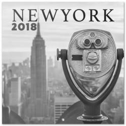 Calendario 2018 Nueva York B/N