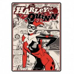 Placa metálica pequeña Batman (HarleyQuinn)