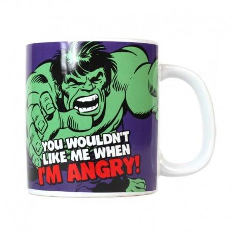 Taza gigante Marvel (Hulk)
