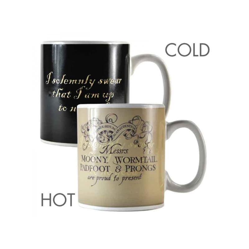 Taza t rmica harry potter mapa de los merodeadores - Taza termica para cafe ...