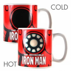 Taza térmica Marvel (Iron Man)