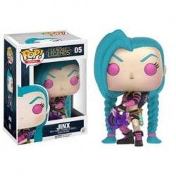 Figura Pop League Of Legends Jinx - 9 cm