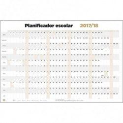 Poster Planificador Escolar 2017/2018 Horizontal