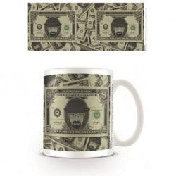 Taza Breaking Bad Dollar