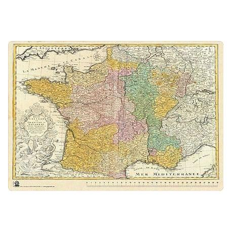 Sous-mains Carte De France Antique