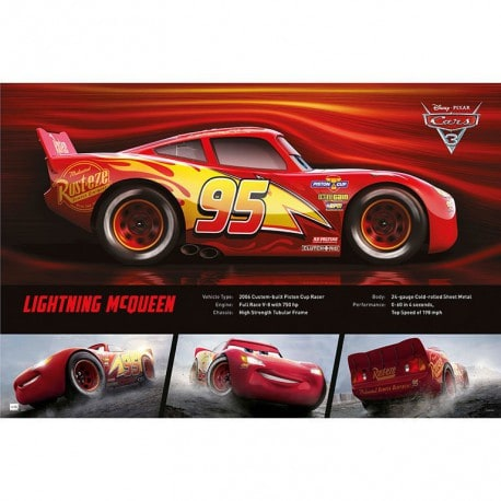 Poster Cars 3 Rayo Mcqueen