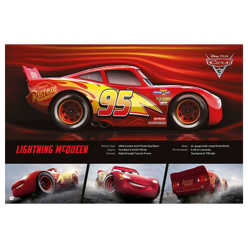 Poster Cars 3 Lightning Mcqueen Nosoloposters Com