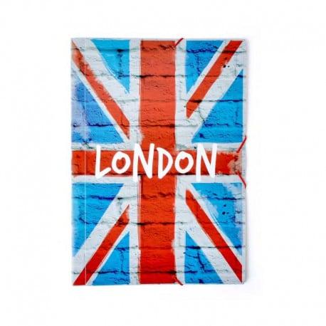 Carpeta Gomas A4 Polipropileno Londres