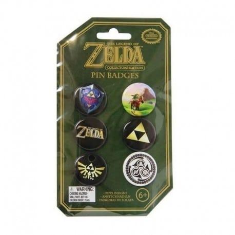 Pack de Chapas Zelda