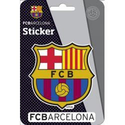 Pegatina E-Poxy FC Barcelona Escudo Relieve