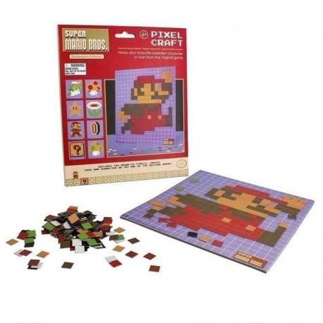 Set de Imanes Pixelados Super Mario Bros
