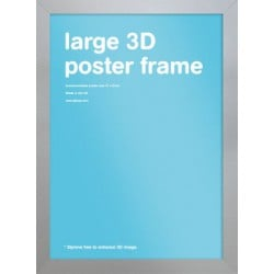 Marco Large 3D Plata (47 x 67cm)