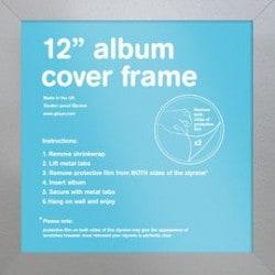 """Marco 12"""" Album Plata (31.5 x 31.5 cm)"""