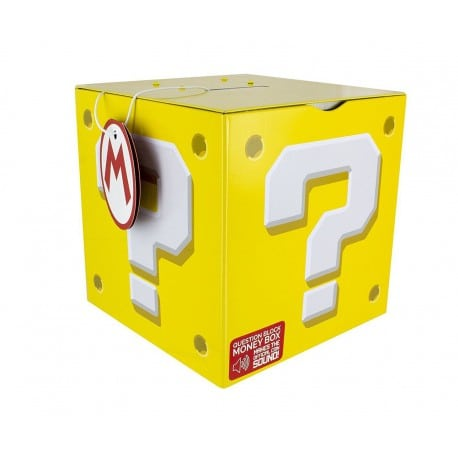 Hucha Super Mario Cubo
