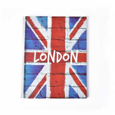 Cuaderno tapa dura A4 cities-London