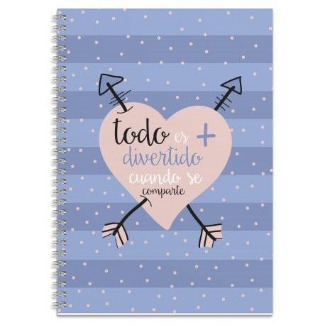 Cuaderno A4 Amelie