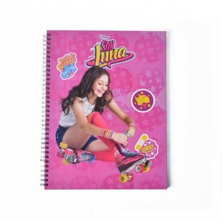 Cuaderno A4 Soy Luna