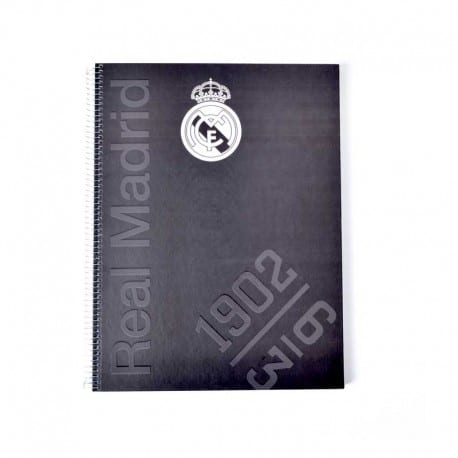 Cuaderno A4 Real Madrid