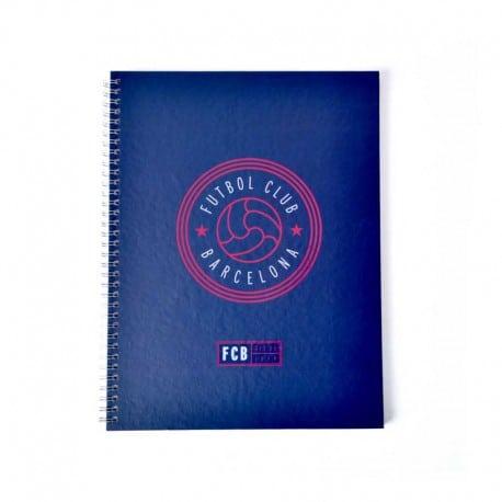 Cuaderno A4 F.C. Barcelona