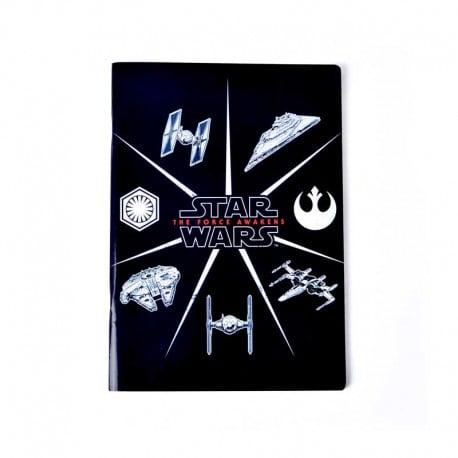 Libreta Grapa A4 Star Wars VII