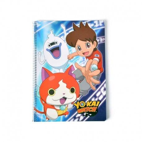 Cuaderno Tapa Dura A4 Yo-Kai Watch