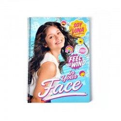 Cuaderno Tapa Dura A4 Disney Soy Luna