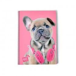 Cuaderno Tapa Dura A4 Studio Pets Dog Camera