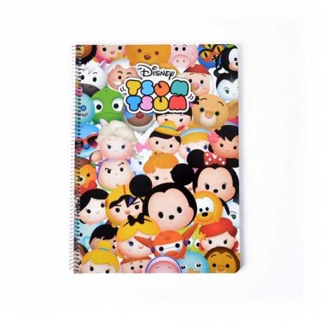 Cuaderno Tapa Dura A4 Disney Tsum Tsum