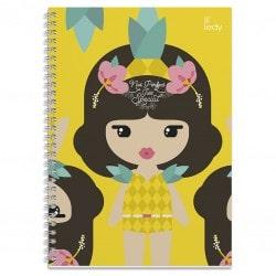 Cuaderno Tapa Forrada A4 Lil Ledy