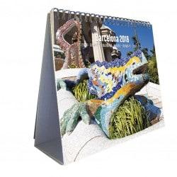 Calendario 2018 Sobremesa Deluxe Barcelona
