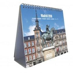 Calendario 2018 Sobremesa Deluxe Madrid
