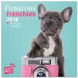 Calendario 2018 Studio Pets Bulldog Frances