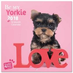Calendario 2018 Studio Pets Yorkie