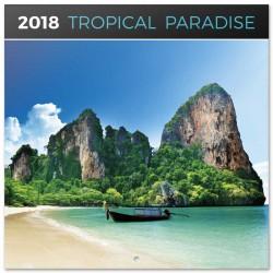 Calendario 2018 Tropical Paradise