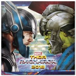 Calendario 2018 Thor Ragnarok